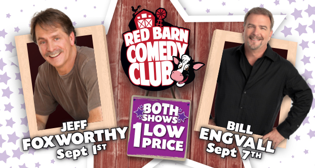 Foxworthy / Engvall Red Barn Comedy Package
